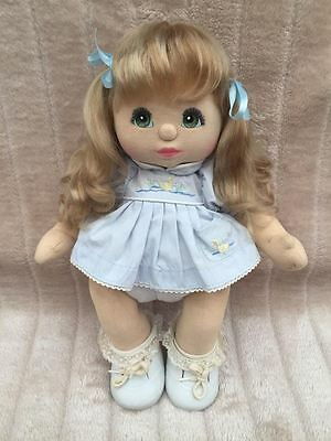 My Child Doll Ash Blonde VPart Green Charcoal
