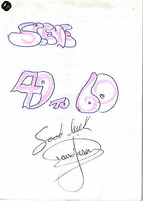 """Authentic Signed David Jasons Own Script From  """"a Touch Of Frost"""" Scene 46-60"""