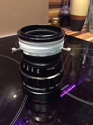 Kowa Anamorphic X2 Lens For Bell & Howell Avec Clamp Et Bague 58mm 62mm  Rare !