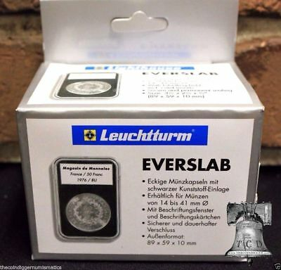 5 Lighthouse EVERSLAB Holders 30mm Walking Liberty Half $ Graded Coin Case SLAB