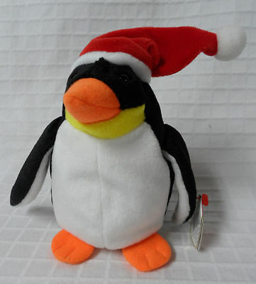 ZERO the holiday penguin ~ RETIRED ~ TY Beanie Baby / Babies ~ MWMT