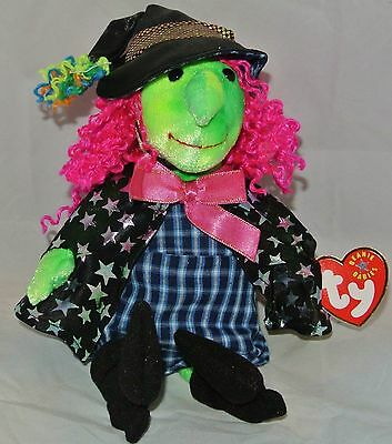 SCARY the witch ~ RETIRED ~ TY Beanie Baby / Babies ~ MWMT