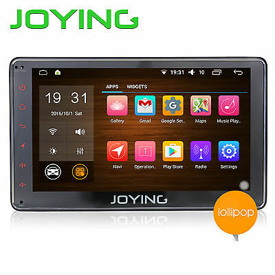 """7"""" In-dash 1Din HD Stereo Radio Android5.1 Touchscreen GPS Navi RDS Bluetooth SD"""