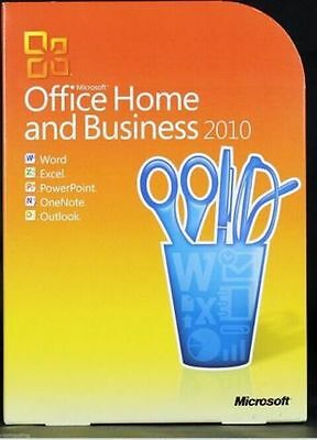 Microsoft Office 2010 Home and Business For Windows