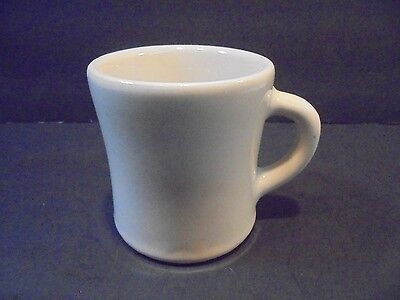 Vintage Victor China Restaurant Ware Heavy White Coffee Mug Cup 1 pound 4 ounces