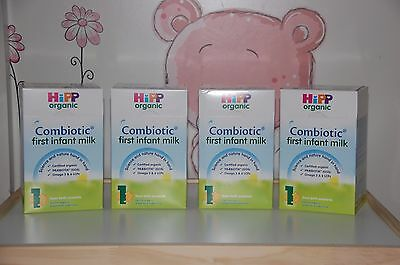*HiPP-UK-Version-800g- 4-BOXES- Organic-Combiotic-First-Infant-Milk-Stage-1- USA