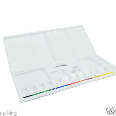 SAKURA Folding Art Watercolor / Acrylic Paint Plastic Palette Empty Box Tray