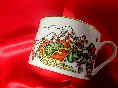 "Fitz and Floyd Coffee Cup in ""St. Nicholas"" Pattern~RETIRED!     Ships FREE!"