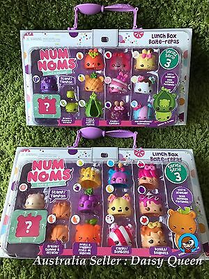 New Num Noms Series 3   2 X Deluxe Pack Lunch Box