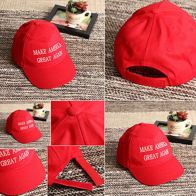 New Arrival Donald Trump Cap 2016 Republican Make America Great Again Hat Red