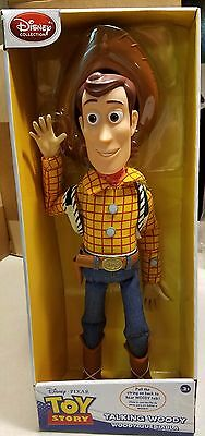 Disney Talking Woody Doll/ Action Figure- NEW IN BOX