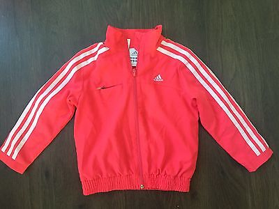 Adidas Pink Tracksuit Top Age 2-3
