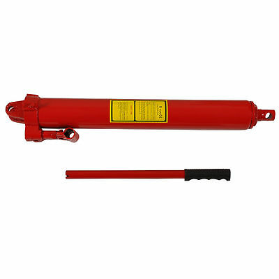 8 Ton Long Ram Hydraulic Jack Replacement Engine Durable Solid Steel Crane Uk