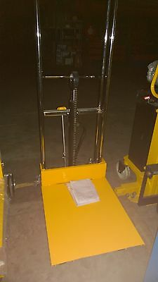 Hydraulic Lifter Stacker Trolley Table Truck Pallet Jack Warehouse Super Market