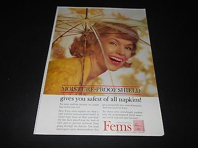 FEMININE PROTECTION magazine ad lot * Vania Libresse Rely Modess tampons