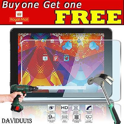 For Argos Alba 10 Inch Tablet -  Tempered Glass Film Screen Protector