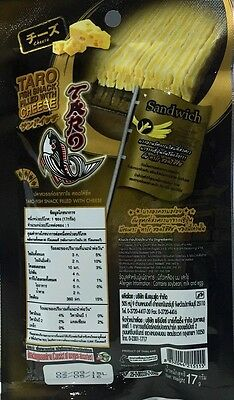 TARO FISH SNACK FILLED WITH CHEESE Low Calorie Snack