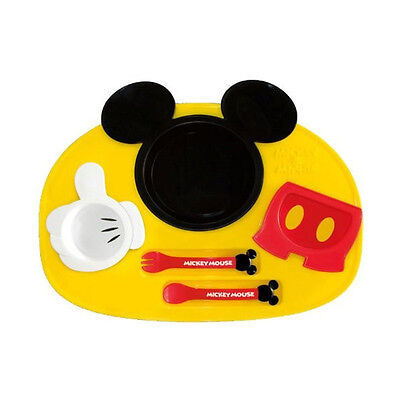 Mickey Mouse Baby Plate Set