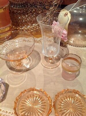 3 Pink Glasses Various Ages & Styles