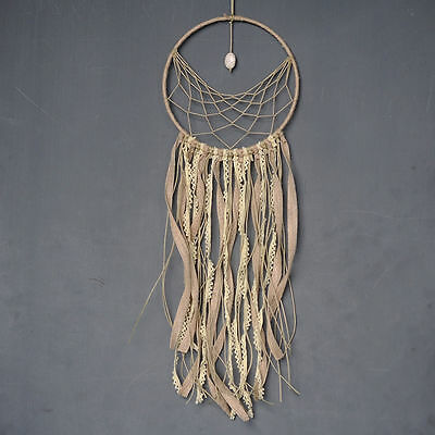 Handmade Dream Catcher with Feather Home Wall Hanging Decor Creative Wind Chime