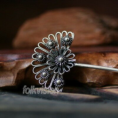 Unique Tribal Ethnic Miao Handmade  Hairpin / Jh107