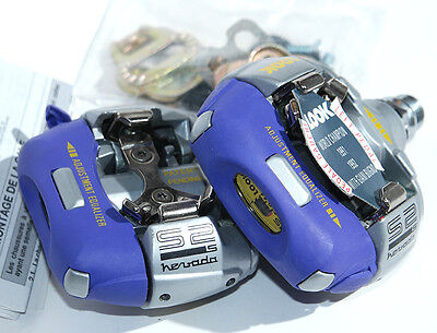 LOOK S2-S Nevada MTB pedals 9/16 SPD clipless 90's NOS Vintage Mountain bike BMX
