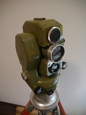 Kern DKM2 AE Theodolite surveying DM 550 Electro Optical Distance Meter Swiss