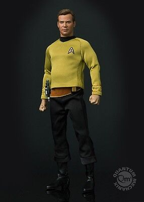 Star Trek: TOS Captain Kirk 1:6 Scale Articulated Figure Quantum Mechanix RARE