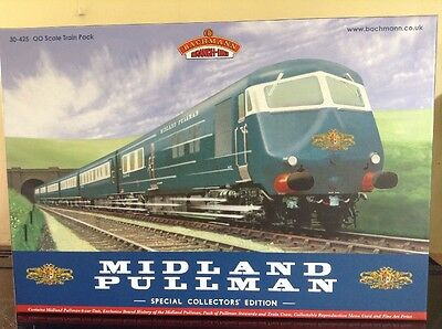Bachmann 30-425 Midland Pullman Special Collectors Pack. OO Gauge.