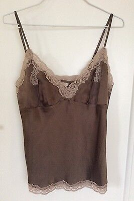 Vintage Silk Lingerie Style Cami Top