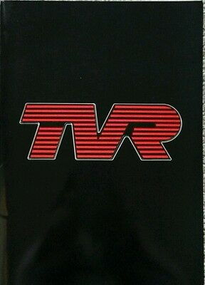 TVR London Motor Show Press Pack - 1987