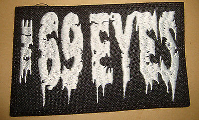 THE 69 EYES - LOGO Embroidered PATCH Sisters of Mercy Type O Negative HIM Charon