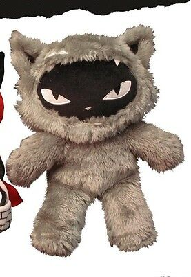 Emily the Strange Wolf Kitty Plush - NEW