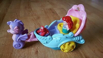 Fisher price little people Ariel's carriage