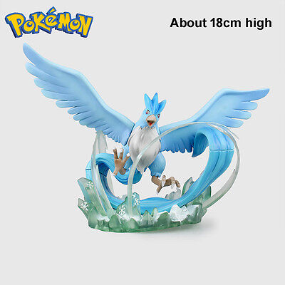 Anime Pokemon Articuno 18cm High PVC Figure Monster Moncolle Doll No Retail Box