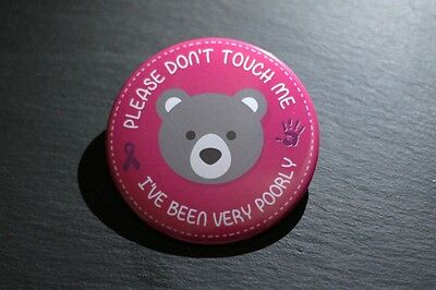 Premature and Poorly BABY BADGE - *Pink*