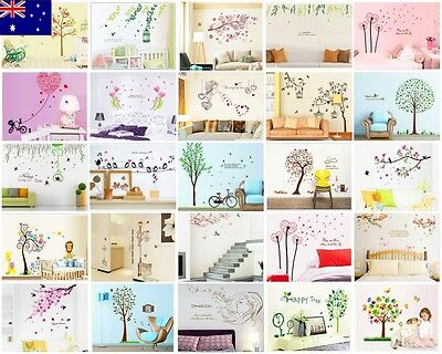 Zofroo Home Decor DIY Removable Vinyl Wall Stickers Decals Murals