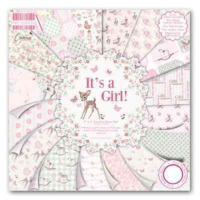 First Edition 8 X 8 Paper Pad - It's A Girl