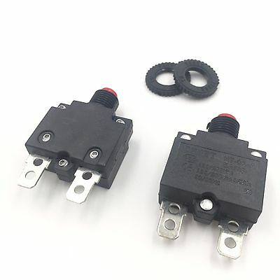 2pcs CHHET HT-01A-101 5A Circuit Breaker Current Overload Protector Switch