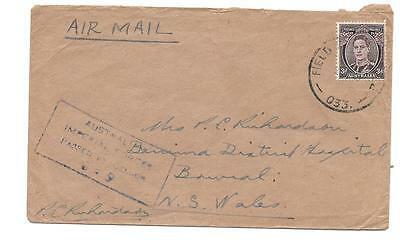 Australia -- Fpo 33 -- Airmail To New South Wales -- Censored