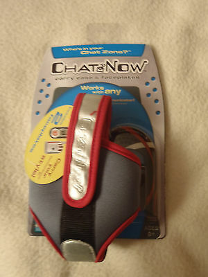 Chat Now Carry Case & Faceplates NIP