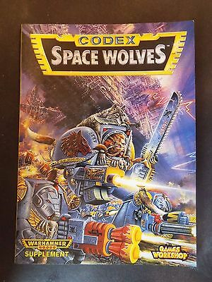 Warhammer 40K Space Wolves Codex Games Workshop