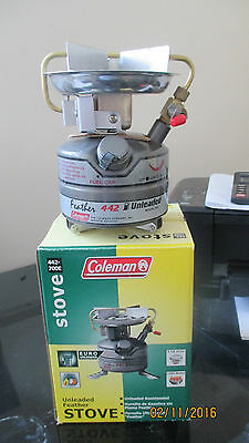 NEW Coleman 442 Feather Stove carp fishing camping