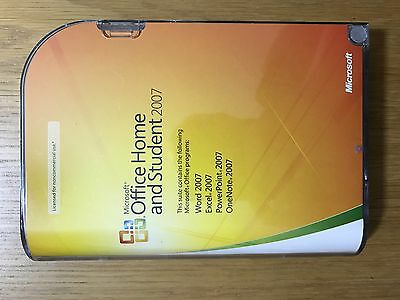 Microsoft Office Home and Student 2007 (3 User Licence) for PC