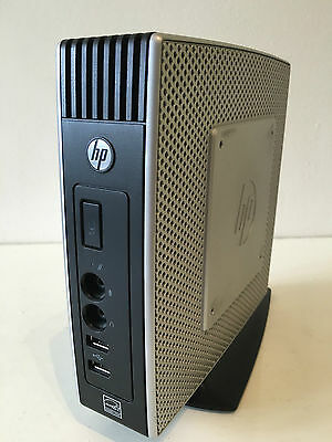 HP T5740e Thin Client N280 1.66GHz 2GB RAM 4GB Flash Drive Stand + chargeur
