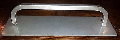 �� Vintage Aluminum Door / Drawer Handle and Faceplate Industrial (Satin finish)