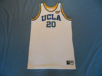 Michael Roll 2006 UCLA Bruins game used jersey from NCAA Championship game