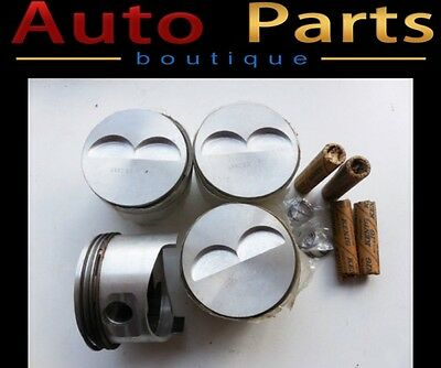 Fiat 128 Asso Piston Set 86.4mm Brand New