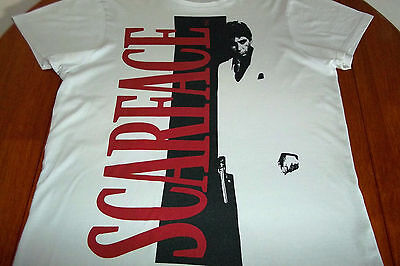 Scarface Official Merchandise,  Original Vintage 1983 T-Shirt, Very Rare , Large