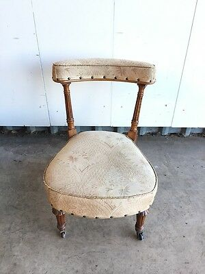 Edwardian Upholstered Chair
